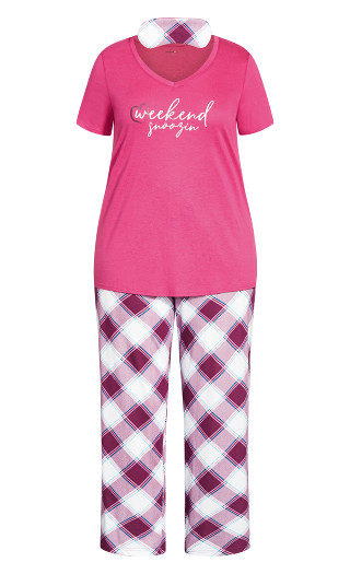Weekend Sleep Set - pink