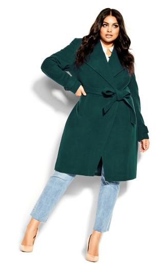 So Chic Coat - alpine