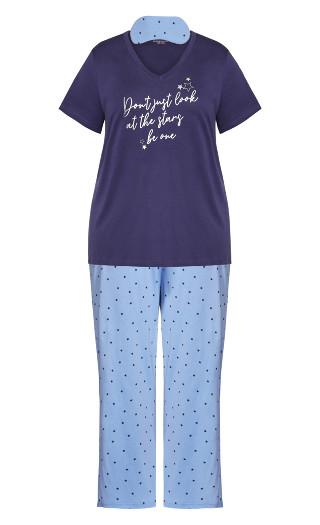 Star Sleep Set - blue