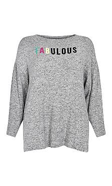 Fabulous Top - grey