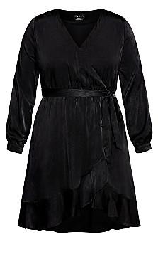 Illusive Dress - black