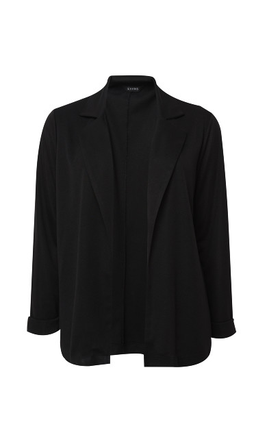 Soft Blazer - black