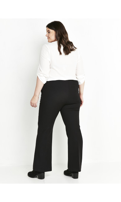 Picasso Bootcut Trousers Black - regular