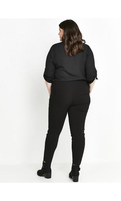 Tailored Trousers Black - regular
