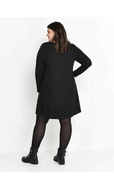 Swing Dress - black