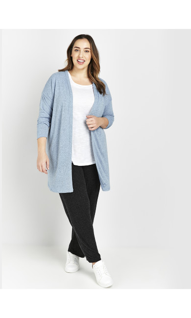Blue Soft Touch Cardigan
