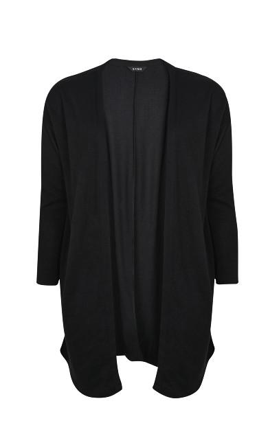 Black Soft Touch Cardigan