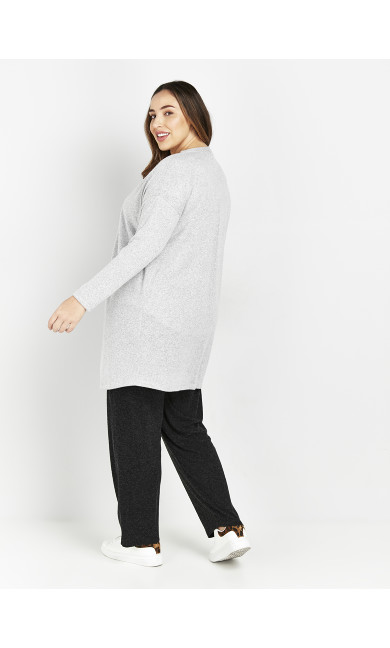 Grey Soft Touch Cardigan