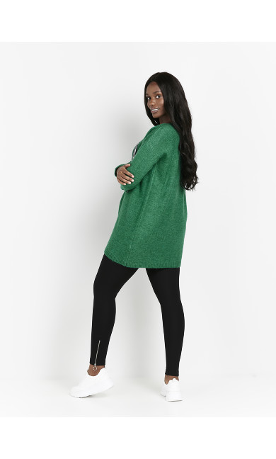 Love Tunic Jumper - green