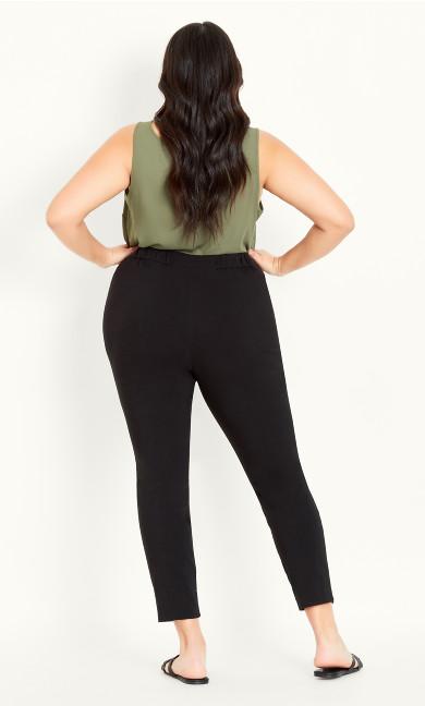 Bengaline Tapered Trouser Black - regular