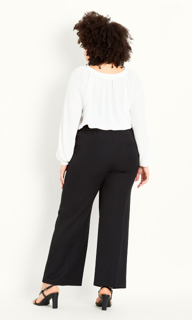 Picasso Stitch Trouser Black - regular