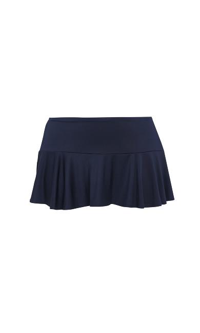 Navy Blue Swim Skirt