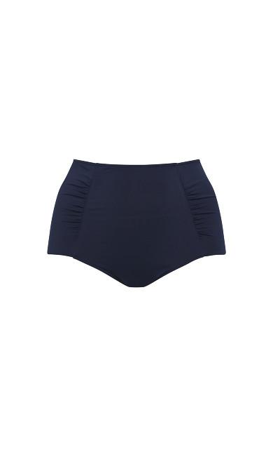 Navy Blue Highwaisted Bikini Briefs