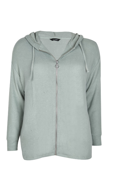 Green Soft Touch Hoodie