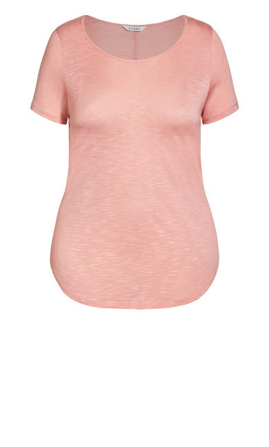 Slub Tee - light pink