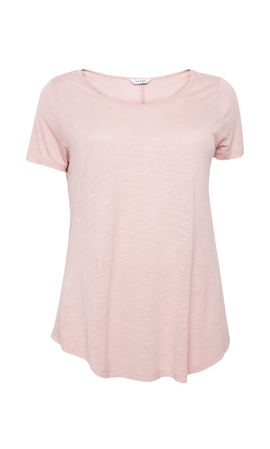 Slub Tee - light pink