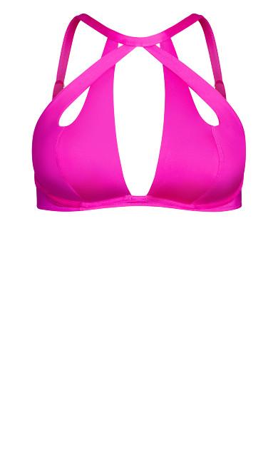 Cancun Underwire Bikini Top - fuchsia