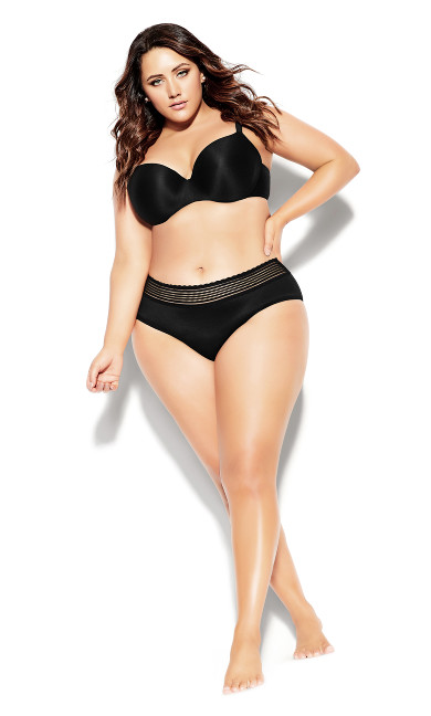 Bodycon Contour Bra - black
