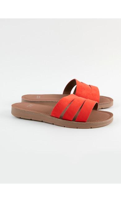 EXTRA WIDE FIT Orange Sandals