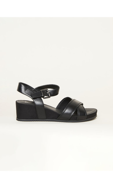 EXTRA WIDE FIT Comfort Wedge - black