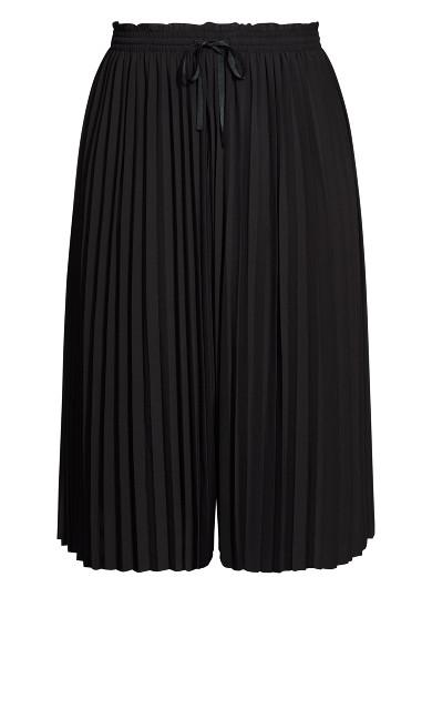 Pleat Away Trousers - black