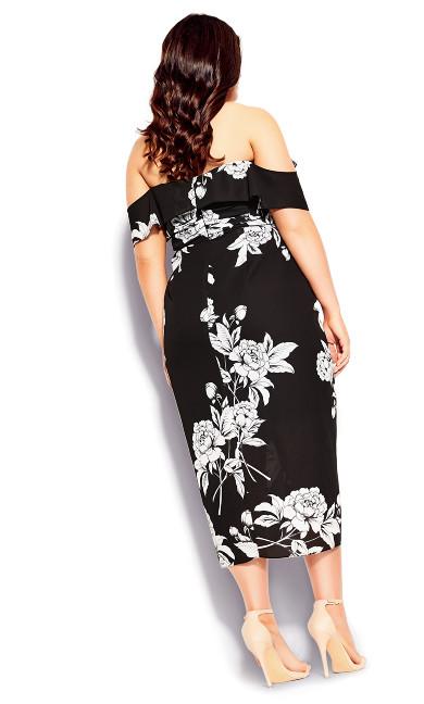 Gabriella Dress - black