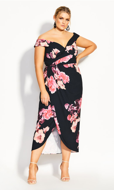 Decadent Maxi Dress - black