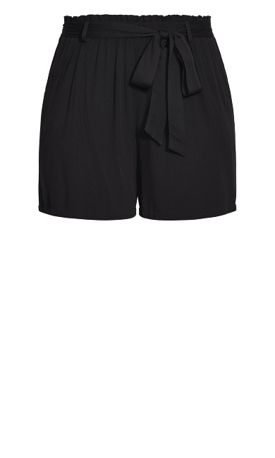 Tropical Tie Short - black
