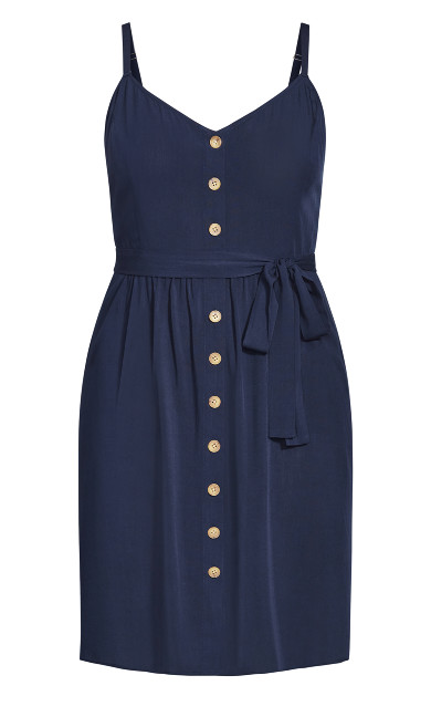 Date Day Dress - navy