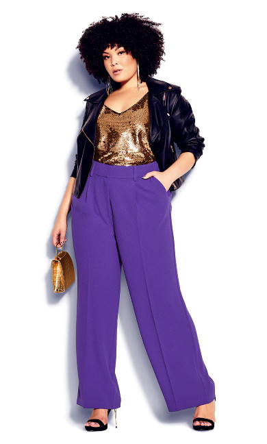 Magnetic Trouser - royal purple