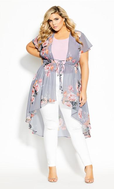 Plus Size Florence Jacket - mauve