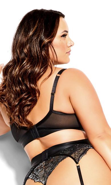 Alexis Garter Belt - black