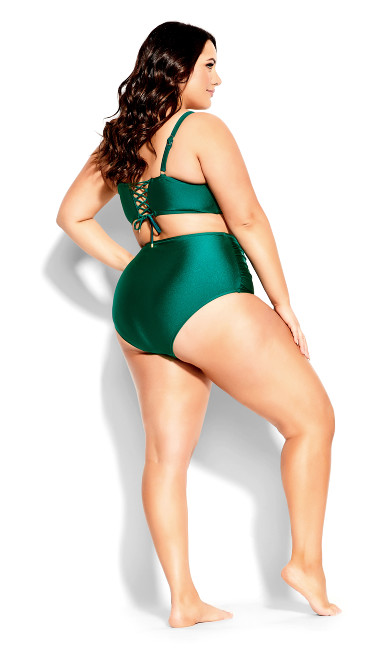 Grenada Underwire Top - emerald