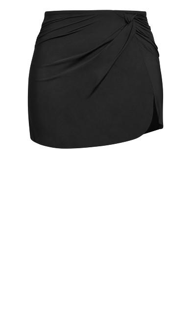 Azores Bikini Skirt - black