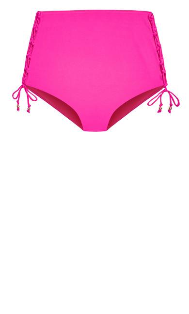 Cancun Bikini Tie Brief - fuchsia