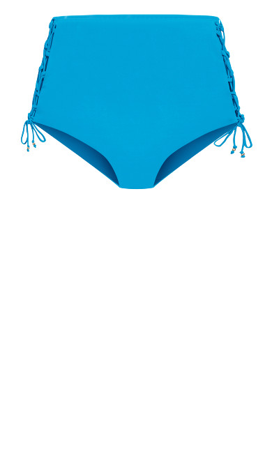 Cancun Bikini Tie Brief  - lagoon