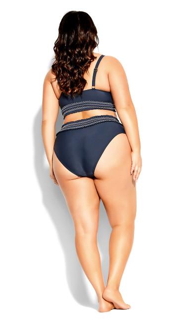 Lucia Bikini Top - navy