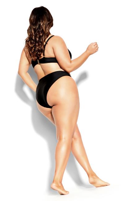 Ingrid Bikini Top - black