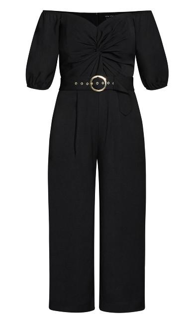 Summer Crush Jumpsuit - black