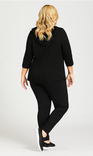 Legging Pocket Full Length Black - average