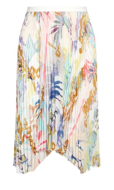 Retro Storm Skirt - ivory