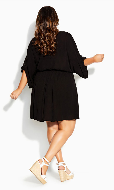 Endless Summer Tunic - black