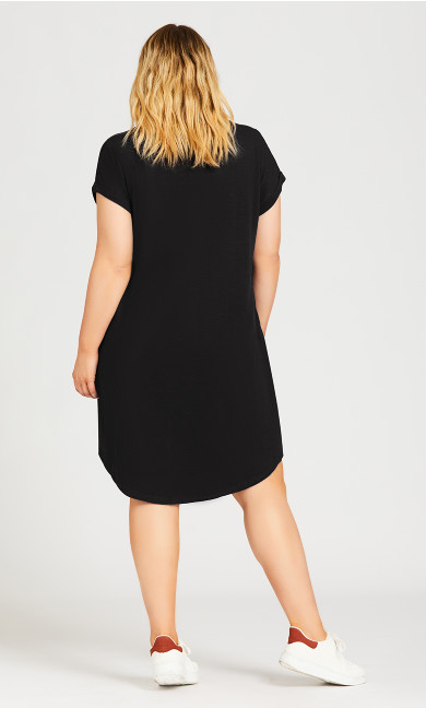 Summer Day Dress - black