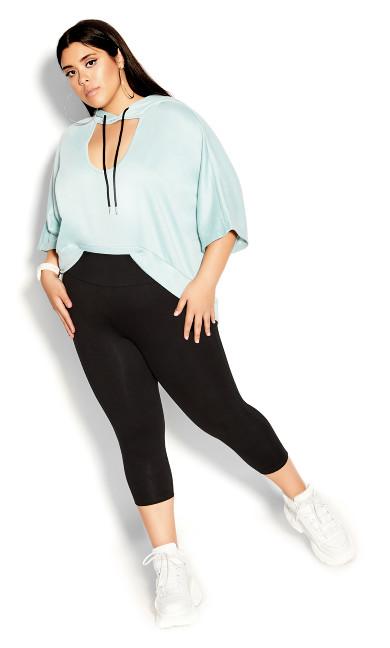 Plus Size CCX 7/8 Legging - black