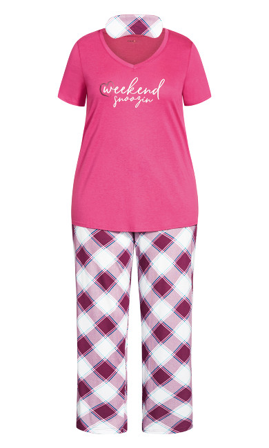Weekend Sleep Set - pink