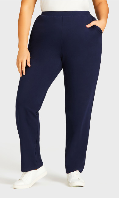 Active Pocket Trousers Navy - average