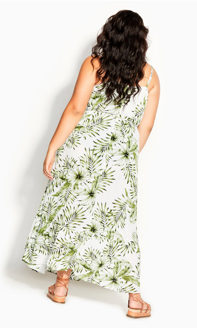 In Paradise Maxi Dress - ivory