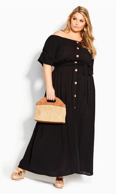 Exotic Love Maxi Dress - black