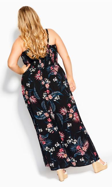 Paradise Maxi Dress - black