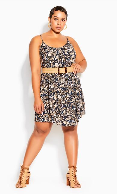 Sunshine Dress - navy
